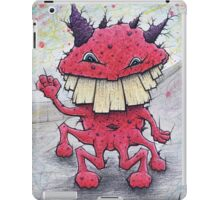 Friendly Red Monster iPad Case/Skin