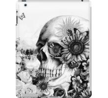 Reflection. Skull landscape iPad Case/Skin