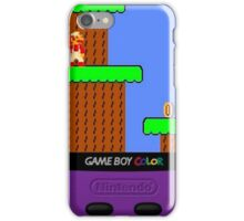 Gameboy color fan iPhone Case/Skin