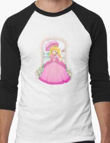 Peach's Garden Men's Baseball ¾ T-Shirt