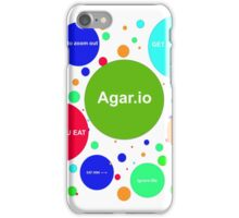 Agario assortment of nicknames iPhone Case/Skin