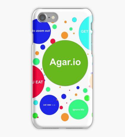 Agario assortment of nicknames iPhone Case/Skin