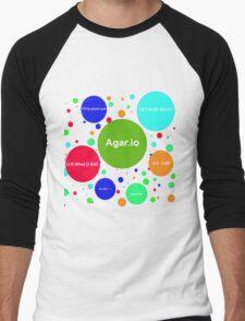 Agario assortment of nicknames Men's Baseball ¾ T-Shirt