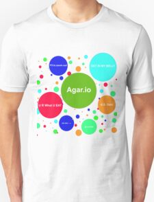 Agario assortment of nicknames Unisex T-Shirt