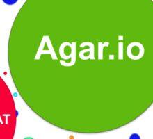 Agario assortment of nicknames Sticker