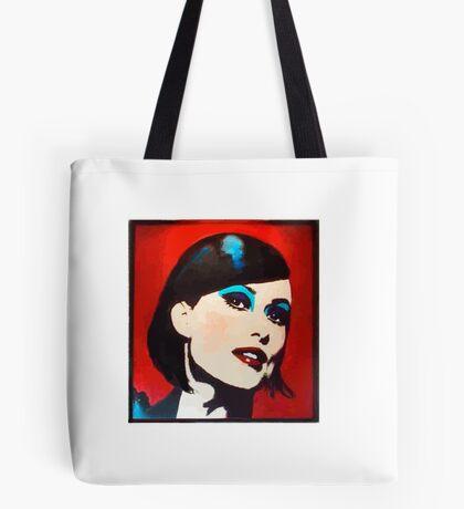 Vinyl PopArt Tote Bag