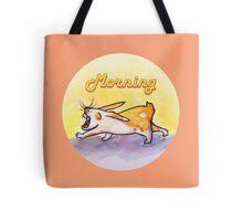 Morning Rabbit Tote Bag