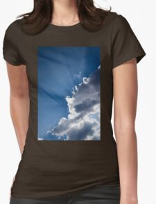 Blue Sky and Sunbeams Womens Fitted T-Shirt