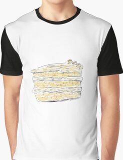 Layer Cake With Cream (Sketch) Graphic T-Shirt