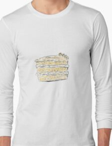 Layer Cake With Cream (Sketch) Long Sleeve T-Shirt