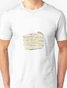 Layer Cake With Cream (Sketch) Unisex T-Shirt
