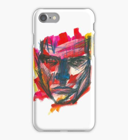 Graphic Man iPhone Case/Skin