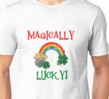 St. Paddys Magically Lucky Unisex T-Shirt