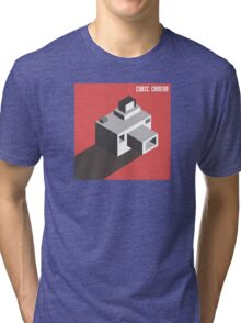 Cubi Camera Tri-blend T-Shirt