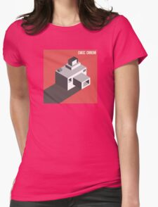Cubi Camera Womens Fitted T-Shirt