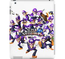 Super WAH Bros. iPad Case/Skin