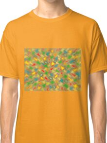 Warm Brush Strokes Classic T-Shirt