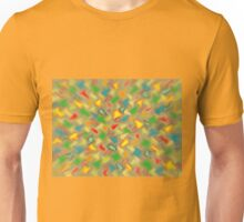 Warm Brush Strokes Unisex T-Shirt