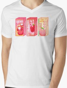 Juice Box Mens V-Neck T-Shirt