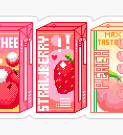 Juice Box Sticker