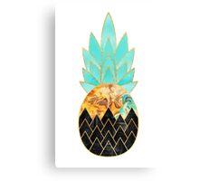 Precious Pineapple 3 Canvas Print