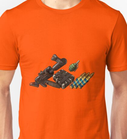 Rust weapons Unisex T-Shirt