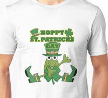Frog Hoppy St. Patricks Day Unisex T-Shirt