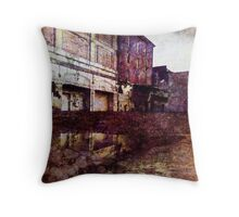 Urban Reflection Throw Pillow