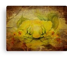 Rose Crowns for the Dancing Hours Canvas Print
