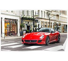 Ferrari 599 GTO Poster