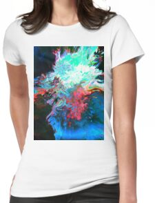 Abstract 41 Womens Fitted T-Shirt