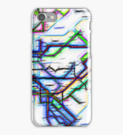 NYC Subway Map iPhone Case/Skin
