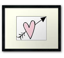 Love Hearth Framed Print