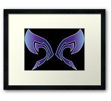 Wings of a Dark Future Framed Print