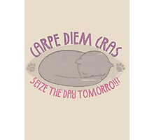 CARPE DIEM CRAS Photographic Print