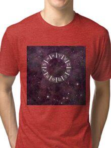 Zodiac Astrology Calendar Tri-blend T-Shirt