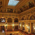 Lviv Opera House interior by Elena Skvortsova