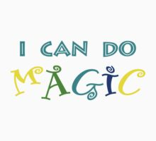 I can do magic, retro, playful, colourful Baby Tee