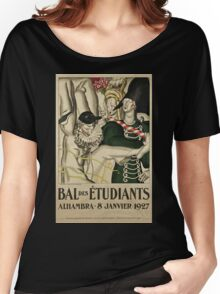 Bal des étudiants à l'Alhambra Women's Relaxed Fit T-Shirt