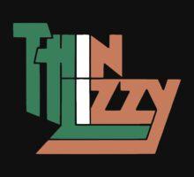 THIN LIZZY IRISH FLAG Kids Tee