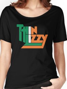 THIN LIZZY IRISH FLAG Women's Relaxed Fit T-Shirt