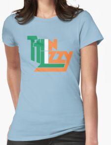 THIN LIZZY IRISH FLAG Womens Fitted T-Shirt