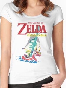 Pixel Windwaker Women's Fitted Scoop T-Shirt