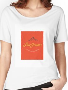 San Juan Mountains Women's Relaxed Fit T-Shirt