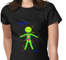 Anatomy: Lesson One Womens Fitted T-Shirt