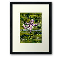 Stardust (Green Flavored) Framed Print