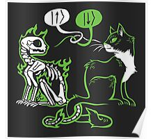 Schrödinger's cat Poster