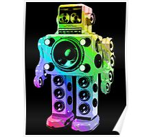 Boombox Robot Poster