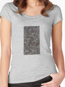Coffee Stains Women's Fitted Scoop T-Shirt