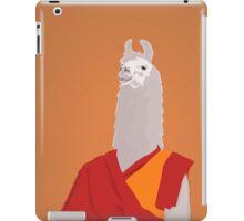 Buddhist lama iPad Case/Skin